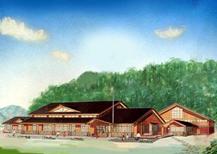 層雲峡小学校改築工事に伴う設計競技