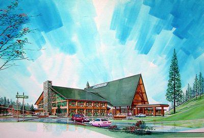 かなやま湖観光開発に伴う温泉休養及び 宿泊施設構想設計競技